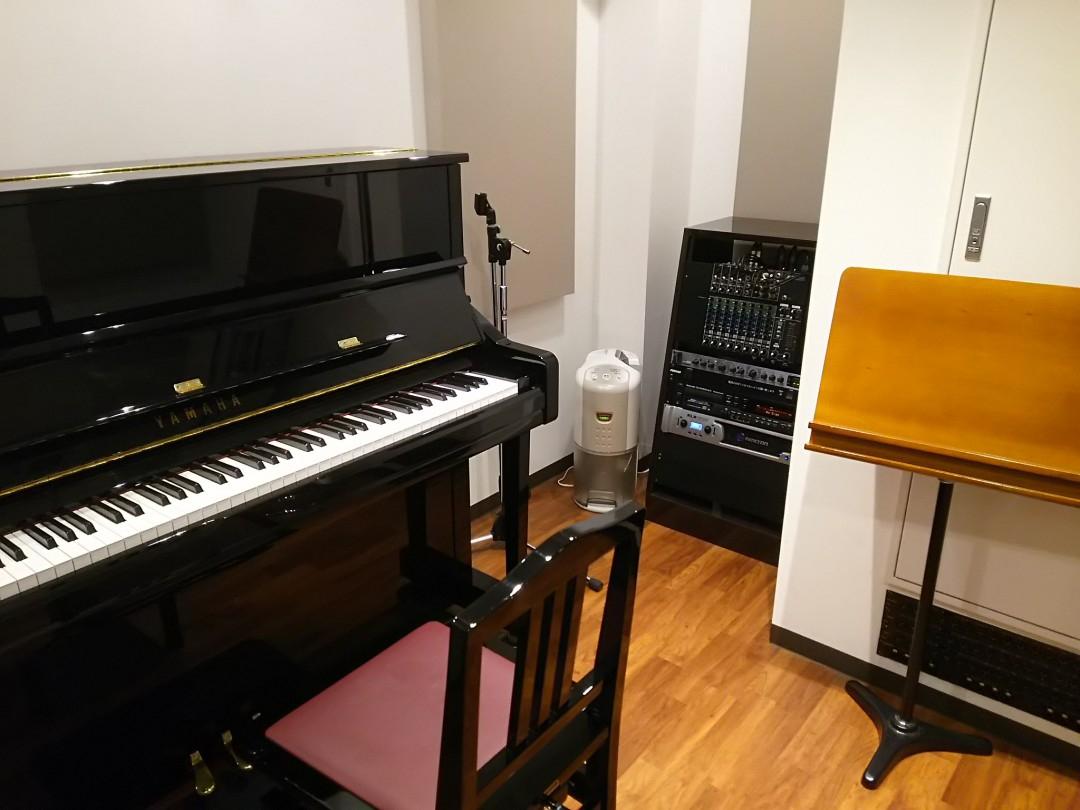 東京クラリネット教室でレッスンに使っているスタジオ