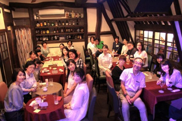 クラリネットライブ参加者の集合写真