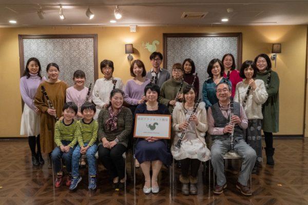 発表会参加者とスタッフの集合写真