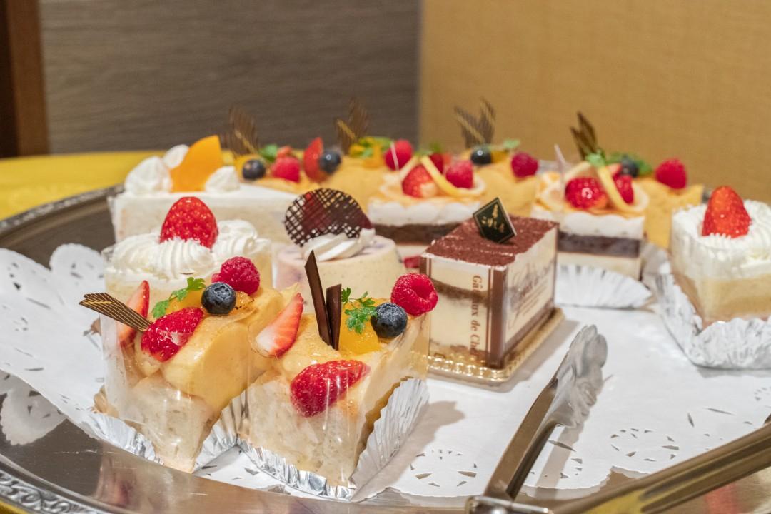 発表会休憩時に提供されるケーキ