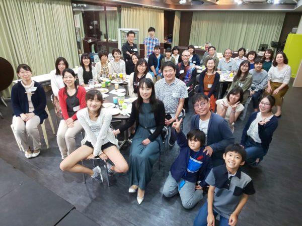 懇親会参加者の集合写真