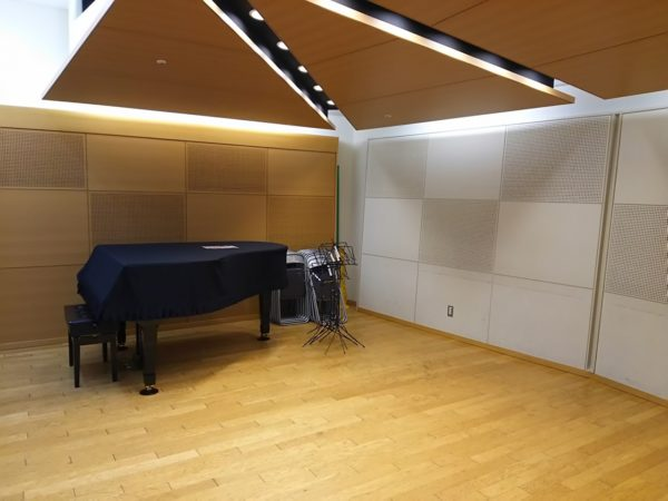 アンサンブルで使用しているスタジオ