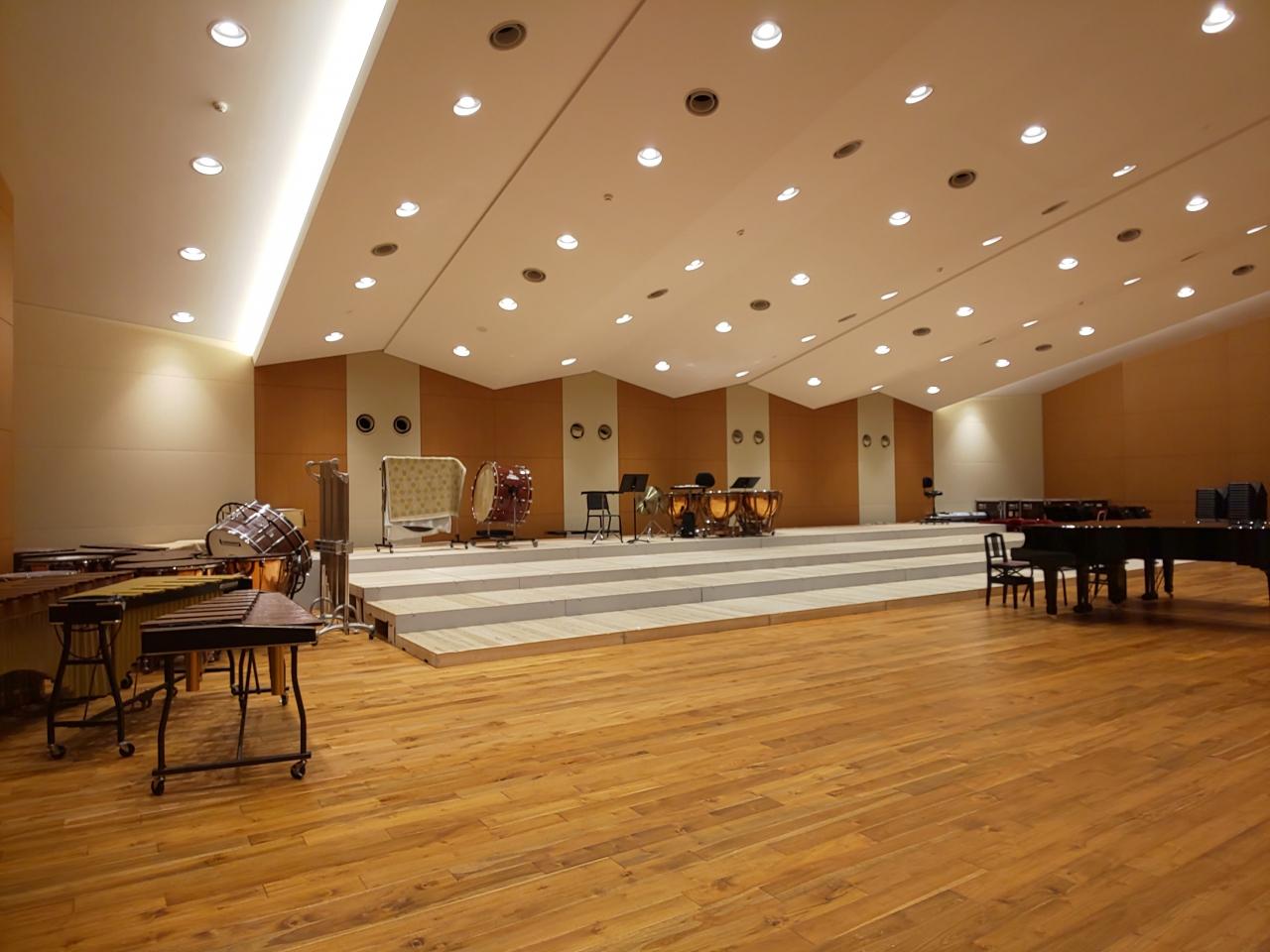 音楽大学の合奏教室