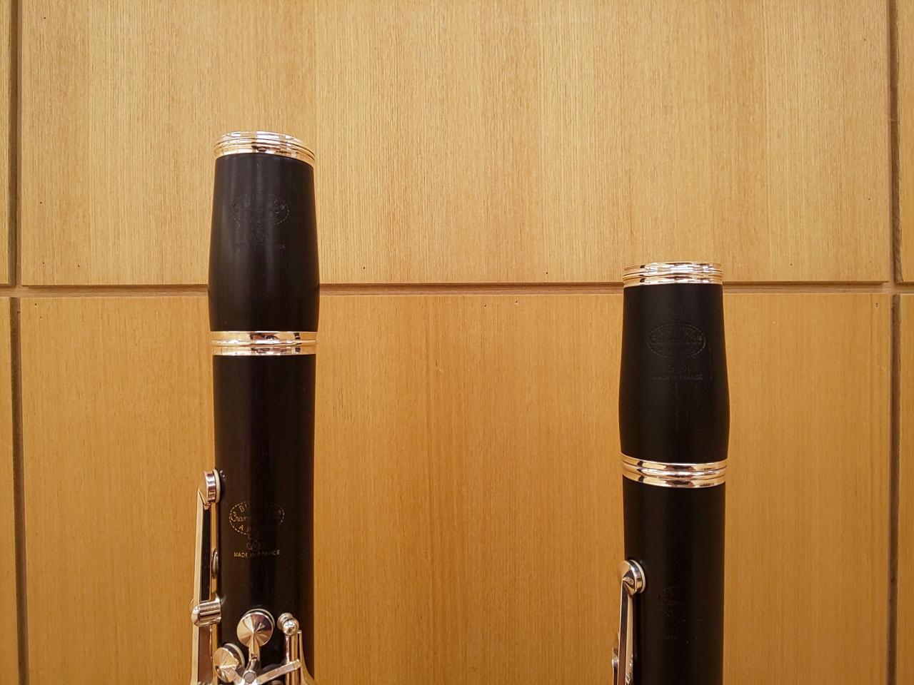 B♭管とA管の比較